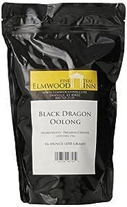 Elmwood Inn Fine Teas, Black Dragon Oolong Tea, 16-Ounce Pouch