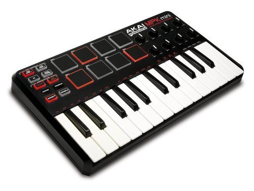 Akai Pro MPK Mini 25-Key Ultra-Portable USB MIDI Keyboard Controller