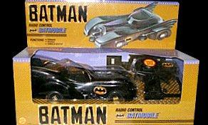 Today Sale Toy Biz Batman Radio Control Batmobile RC Remote Controlled Car Vehicle 1989 Marvel Comics Collectible  Review