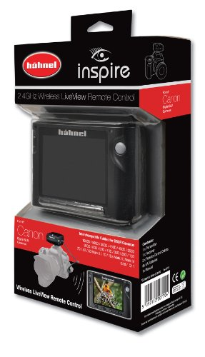 Hahnel Inspire Wireless Remote with Liveview Display for Canon