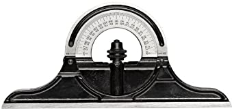 Starrett PR-1224S Cast Iron Reversible Protractor Head For Combination Squares, Combination Sets And Bevel Protractors