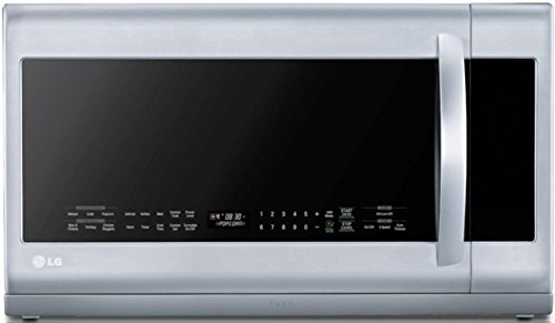 Review Of LG LMHM2237ST 2.2 Cubic Feet Over-The-Range Microwave Oven, Stainless Steel