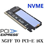 M.2 NVMe SSD NGFF To PCIE 3.0 X16 Adapter M Key interface card Suppor PCI Express 3.0 x4 2230-2280 Size m.2 Full Speed