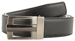 Jackblack Men's Leather Reversible Belt (SEVP026, Black and Brown, 32)