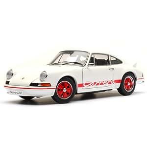Autoart - 78051 - Véhicule Miniature - Porsche 911 Carrera 2.7 Rs - Blanc / Rouge - Echelle 1/18