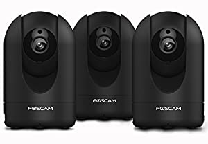Foscam R2 1080P HD WiFi Security IP Camera with iOS/Android App, Pan, Tilt, Zoom, 2-Way Audio, Motion Alerts, and More (Black)