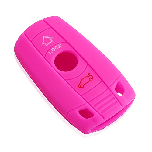 silicone-skin-car-remote-fob-shell-key-holder-case-cover-for-bmw-x1-x5-3-5-series-pink