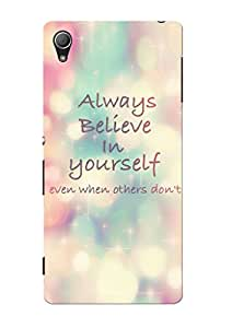 Sowing Happiness Printed Back Cover For Sony Xperia Z4
