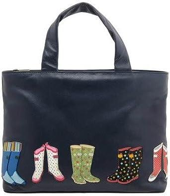"Yoshi Hampton ""WELLIES"" Soft Leather Applique Bag - Y26 WELLIES"