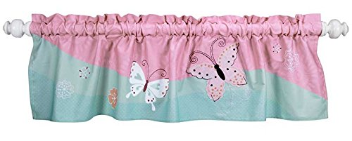 Lambs & Ivy Window Valance, Kaleidoscope (Discontinued by Manufacturer)