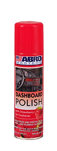 Abro DP-629-ST Strawberry Scented Dashboard Polish (220 ml)