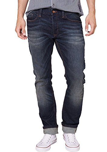 QS by s.Oliver Herren Straight Leg Jeans 40.408.71.8379, Gr. W38/L36 (Herstellergröße: 38), Blau (blue 58Z5)