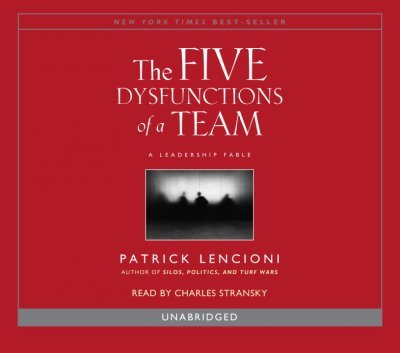The Five Dysfunctions Of A Team The Five Dysfunctions Of A Team
