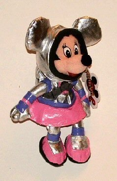Disney World Spaceman Minnie Mouse Bean Bag - 1