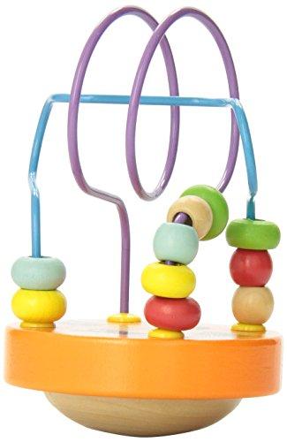 Manhattan Toy Wobble-A-Round Beads, Orange - 1