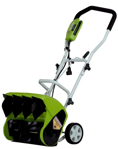 Greenworks 26022 16-Inch 9 Amp Electric Snow Thrower