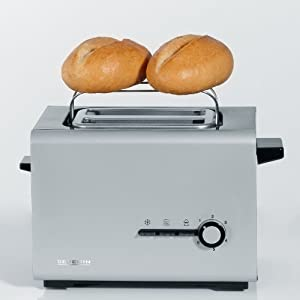 Severin Style Automatic Toaster, Silver/ Black by Severin