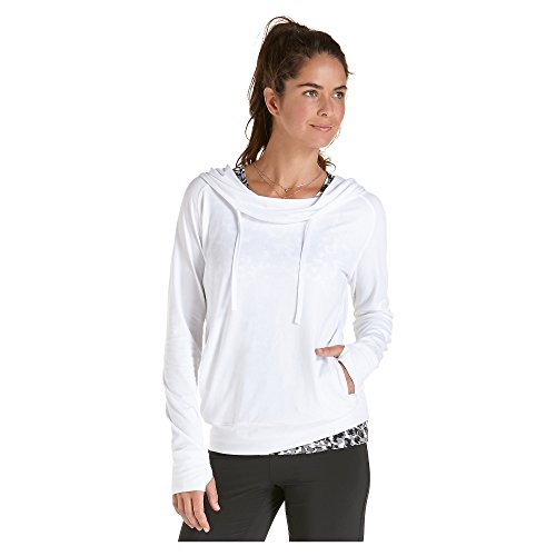 Coolibar UPF 50+ Women's Cowl Neck Pullover – Sun Protective