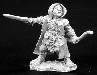 Dark Heaven: Woody Stumpwimple, Halfling Ranger - 1