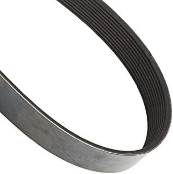 "Goodyear Engineered Products Poly-V V-Belt, M Profile, Ribbed, 10 Rib, 0.37"" Width"