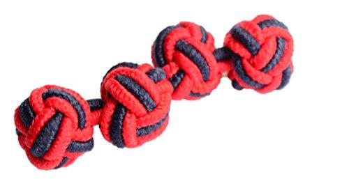 elastico-clasico-nudo-gemelos-facil-y-aplicacion-inteligente-para-doble-con-camisas-red-and-navy-tal