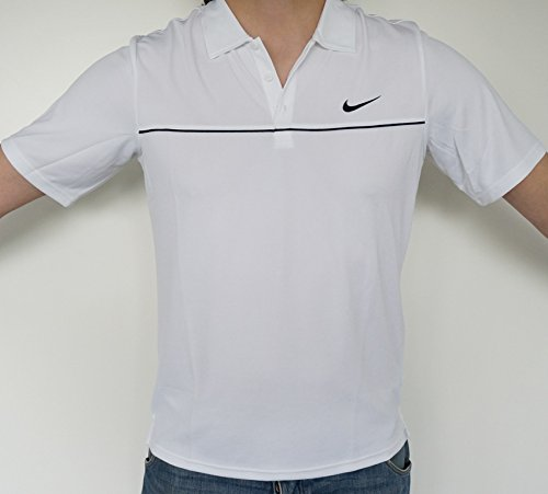 Nike NET Limited UV Polo Shirt M DRI-FIT T-Shirt Pique Tennis Squash etc.