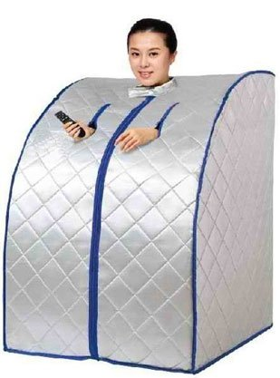 Portable Far Infrared Sauna with Ceramic Heater and Heating Panels - X-Large