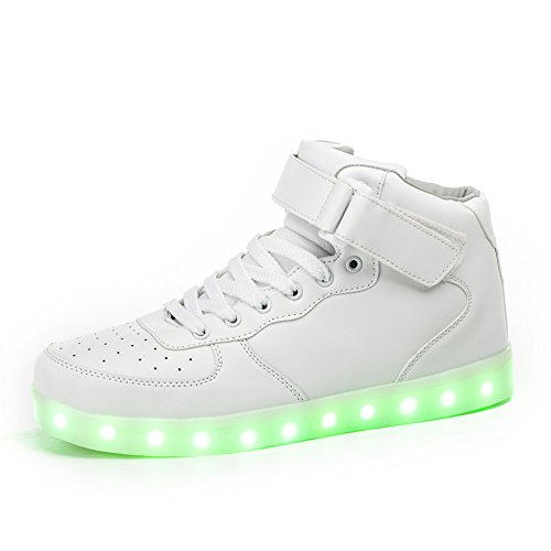 LeoVera-Unisex-USB-Charging-7-Colors-LED-Shoes-Flashing-Sneakers