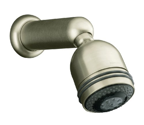 Kohler K-8507-BN MasterShower Three-Way Showerhead, Vibrant Brushed Nickel