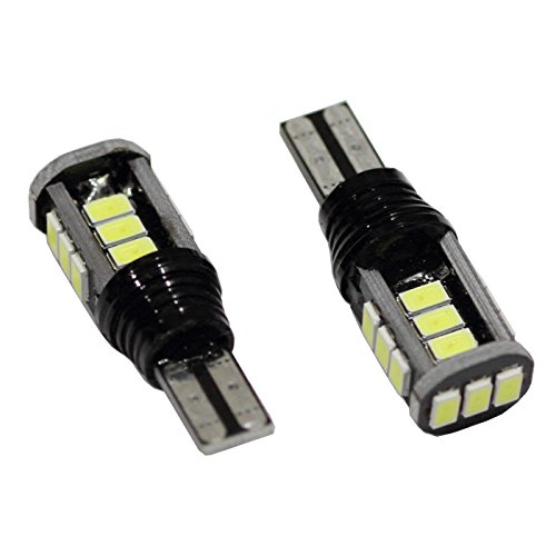 """2 Pcs White 42Mm 9 Smd High Power Dome Light Led Bulb With Heat Sink Canbus Error Free 1.7"""" 12V Festoon Replacement For 211, 212, 211-2, 212-2, 214-2, 560, 569, 578, 6413, 6429 Compare To Sylvania Osram Phillips"""