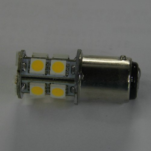 Rv Boat Led Light Bulb 1076 Ba15D 1142 13 Smd 5050 Warm White 12V