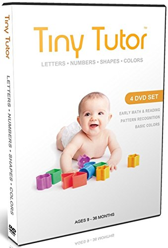 Tiny Tutor: Letters, Numbers, Shapes & Colors (4 DVDs)