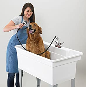 Utility Sink Dog Shower Mustee