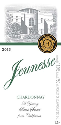 2013 Jeunesse California Chardonnay 750 Ml
