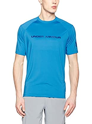 Under Armour Camiseta Manga Corta Ua Scope Ventilated Ss T (Azul)
