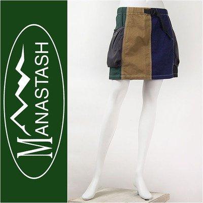 MANASTASH レディース リップスカート