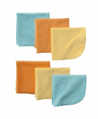 Circo® Baby Assorted Solid Washcloth Set - Yellow - 1