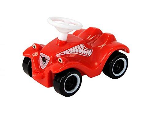 Bobby-Car-mini mini-bobby-car rot – zum aufziehen Pull-Back – BIG als Geschenk