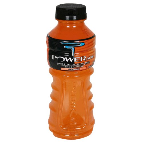 Powerade Liquid Hydration + Energy Drink, With B Vitamins, Orange , 20 Fl. Oz, (Pack Of 6)