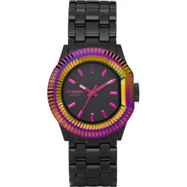 Diesel Black Plated Ladies Watch - DZ5260