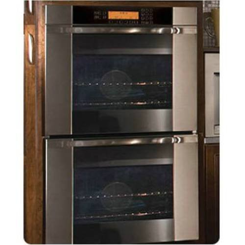 "Dacor Mov227S - Millennia Discovery 27""Double Wall Oven, In Stainless Steel With Vertical Black Glass front-37802"