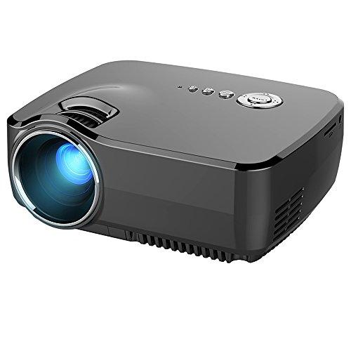 vid oprojecteur led honyi 800 480 pixels 1200 lumens videoprojecteur pour portable int gr. Black Bedroom Furniture Sets. Home Design Ideas