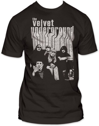 Old Glory Mens Velvet Underground - With Nico Soft T-Shirt - Large Black