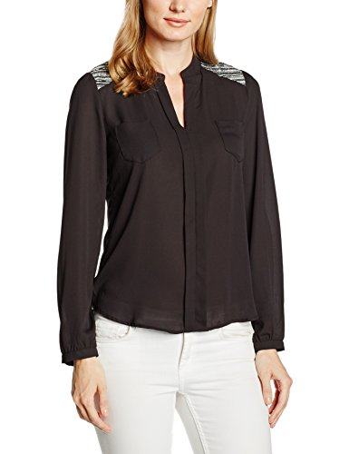 Best Mountain CHLW2658F, Camicia Donna, Nero, L