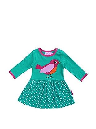 Toby Tiger Vestido Drbird (Verde)