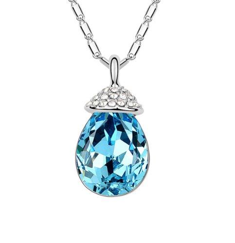 Boxingcat Fine Jewelry Swarovski Style Clear Austrian Crystal Pendant Necklaces Bgca6268 front-338052