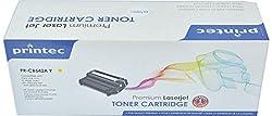 Printec HP Compatible 125A (CB542A) Toner Cartridge (Yellow)