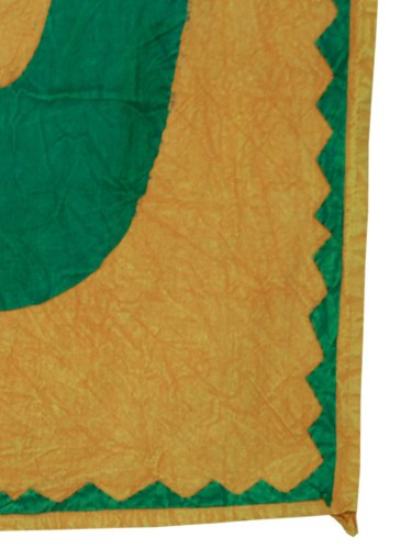 Imagen 3 de Indio decorativo Graceful Patch Work OM espiritual Tapiz de pared colgante hecha por algodón Tamaño 55 x 35 pulgadas