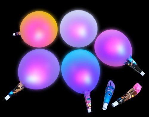 Magic Flashing Led Balloons (12-Pack)