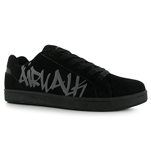 airwalk-neptune-skate-scarpe-casual-da-uomo-nero-sneakers-black-uk8-eu42
